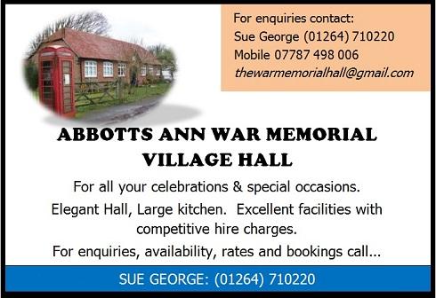 Abbotts Ann Village Hall