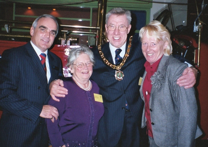 Councillor Arthur Peters and Mrs Carole Peters of Abbotts Ann
